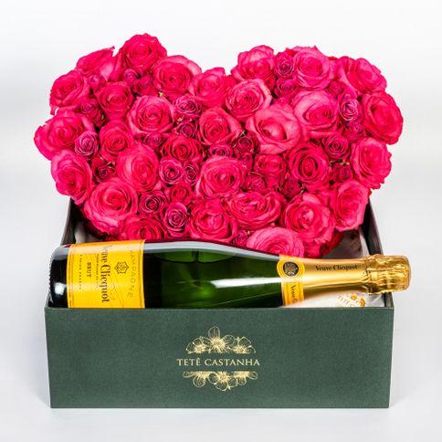 Flower's-Heart-Veuve-Clicquot